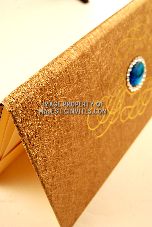 Gold Invitation Card as awesome invitations template