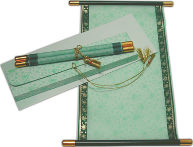 buy a paper scroll Classic parchment paper is an elegant stationery, ideal for that special hand written letter, as calligraphy paper, but also can be used in your ink-jet or laser printer.